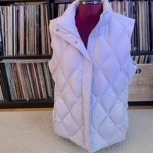 BROOKS BROTHERS 346 | pale lilac puffer vest 16